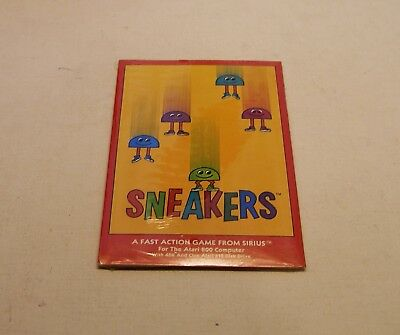 Sneakers by Sirius Software for Atari 400/800 - NEW