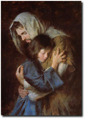 The Promise by Morgan Weistling - Jesus Christ - Chrisian Art - Canvas