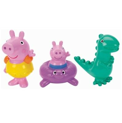 Peppa Pig - Bath Squirters - Peppa Pig, George & Dino