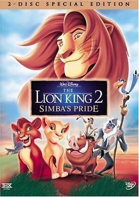 The Lion King 2 Simba's Pride Special Edition Disney DVD Version 2-Disc Set NEW