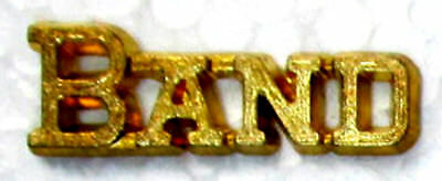 BAND Chenille-Sports-Lapel-Jacket-Award Pins School-Team-Party FastShip