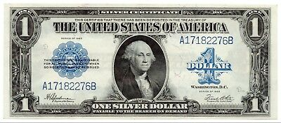Fr.237 1923 $1 Silver Certificate, Large Size Note, About UNC, Nice [4013.02]