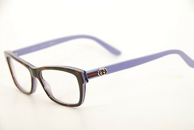 f21f56f467 New Authentic Gucci GG 3562 L9K Havana Purple 53mm Italy Frames Eyeglasses  RX
