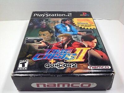 Time Crisis II Big Box Complete Playstation 2 PS2