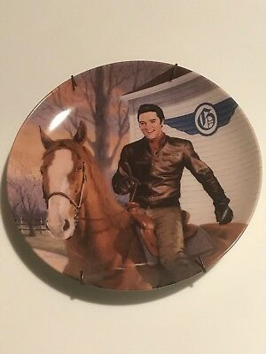 Elvis Presley 'The Flying Circle G Ranch: Walls, MS, Collector plate, limited ed