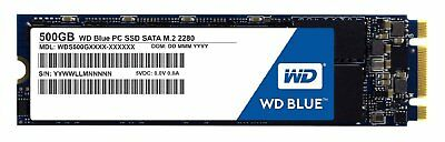 Western Digital SSD 500GB Blue M.2 2280 545MB/s Read Solid State Drive tbs UK