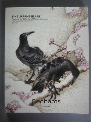 Bonhams 9/13/17 Fine Japanese Art netsuke inro woodblock prints porcelain bronze