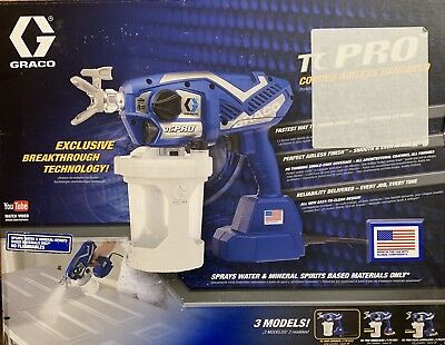 Graco TC Pro Corded Handheld Airless Paint Sprayer 17N163