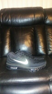 Men's Nike air max 2017 running shoes size 13 black