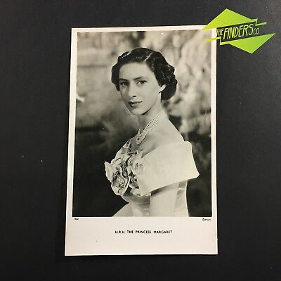 Vintage Tucks Postcard H.r.h The Princess Margaret British Royaly Post Card