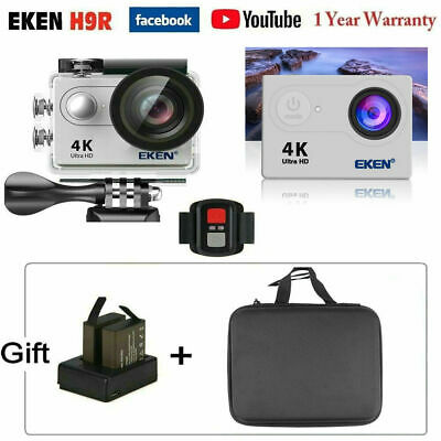 EKEN H9R 4K WIFI Action Camera Ultra HD 1080P Sports Camcorder Waterproof 30M