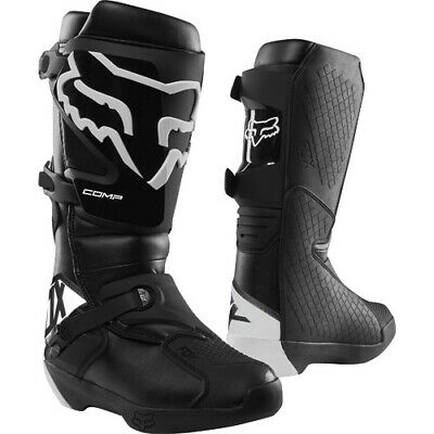 Fox Comp Black Adult Motorcross Boots