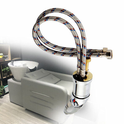 Beauty Salon Shampoo Unit Bowl Sink Hot&Cold Faucet Spray Hose Replacement USA