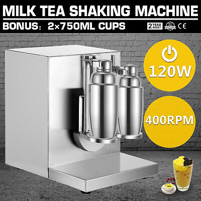 Double cups milk Shake Creations Machine 120W 220V Commercial Milkshake