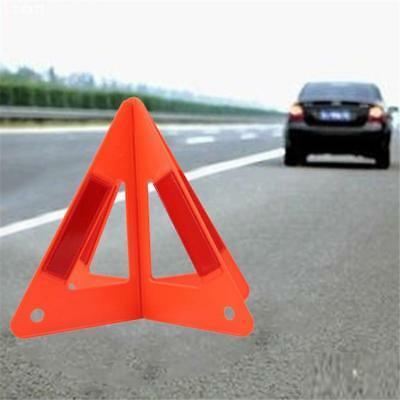 Red Foldable Warning Triangle Emergency Breakdown Sign For Car Auto Safety FI