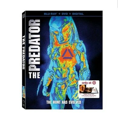 2018 The Predator Blu Ray + DVD + Digital Target Exclusive 38 Page Book