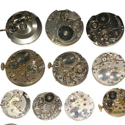 Randomly Scrapped watch Mechanical movement for DIY watch assembly Supply