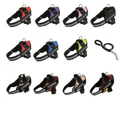 Big Dogs Power Harness Strong Adjustable & Reflective Dog Puppy Harnesses