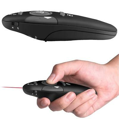 Wireless Mouse Presenter w/ Red Laser Pointer USB Remote Control for PPT Meeting
