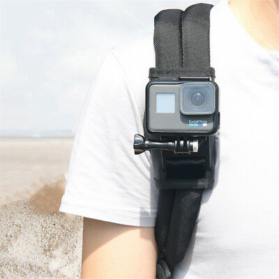 For Xiaomi Yi for Gopro Hero7 6 5 4 Sport Camera Backpack Clip Mount Rotating