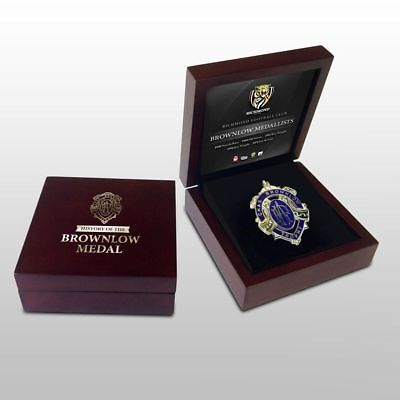 Brownlow Medal In Wooden Display Box Richmond Tigers