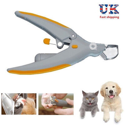 LED Pet Nail Dog Cat Claw Clippers Trimmer Scissors Cutters Pet Care Tool