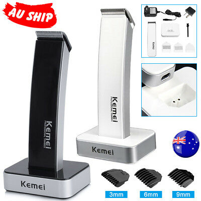 Hair Trimmer Rechargable Cordless Cut Beard Electric Clippers Shaver Razor Comb