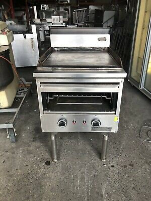 HOTPLATE WITH GRILL EXCELLENT WORKING  CONDITION 600 Wide A Real Work Horse