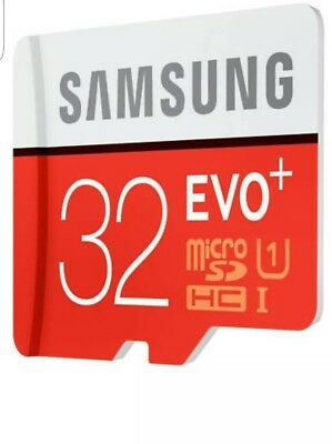 Samsung 32GB Micro SD Card SDHC EVO UHS-I Class 10 TF Memory Card FAST NEW