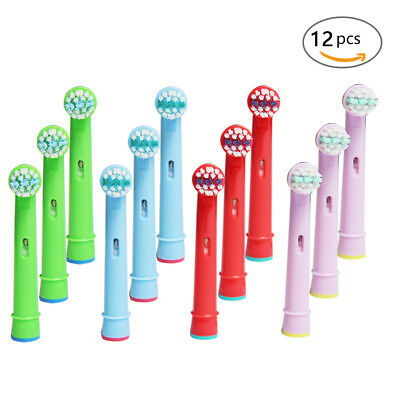 4-20 Brush Heads Braun Fit For Kids Oral-B Electric Replacement Toothbrush Heads