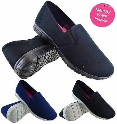 Ladies Womens Comfort Running Sport Gym Walking Trainers Pumps Shoes Size 3-8