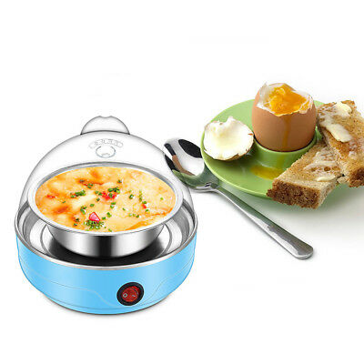 Fashion 350W Electric Eggs Boiler Cooker Poacher Steamer Maker Cooking Tool