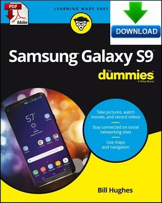 Samsung Galaxy S9 For Dummies - read on PC, PHONE or TABLET - fast PDF Download
