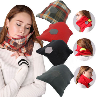 Soft Pillow Neck Scientifically Proven Super Support Travel Flight Portable
