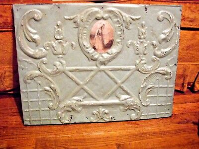 "vintage ceiling tin tile, 24""x 18"""