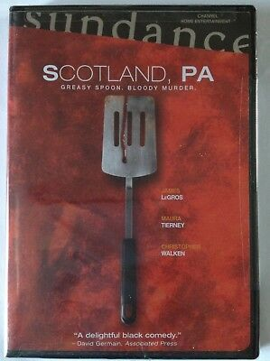 Scotland, PA. James Le Gros, Maura Tierney (DVD, 2002) FACTORY SEALED