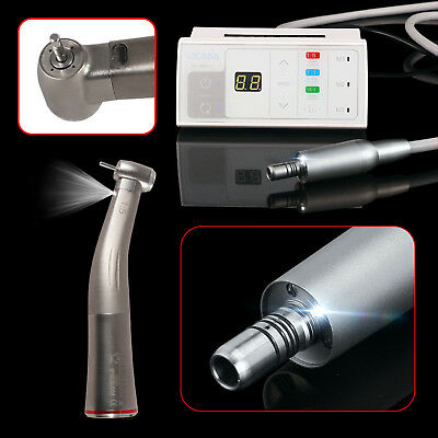 Dental Brushless LED Electric Motor 1:1/16:1/1:5 +Fiber Optic Handpiece CV/DX Ca