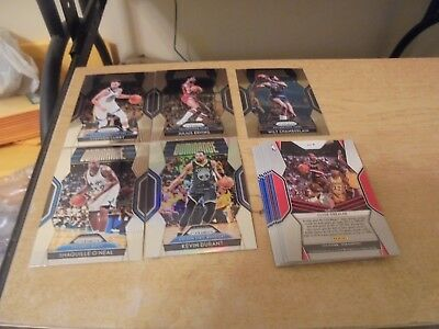 2018-19  Prizm Basketball 14 Card Lot of Dominance Inserts - Listed - Curry