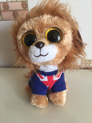 7c89974af30 TY BEANIE BOO 6inch - NEW - HERO THE LION - £4.50