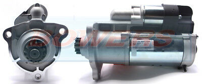 BRAND NEW STARTER MOTOR 24V 12 TOOTH DRIVE 5.5kW C/W BOSCH 0001241 TYPE SCANIA