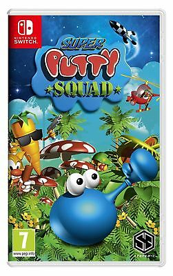 Super Putty Squad Nintendo Switch Brand New Sealed Official