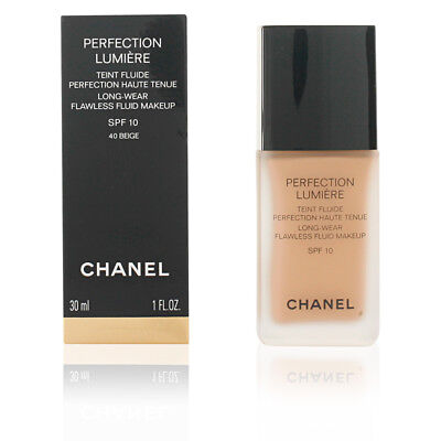Chanel Perfection Lumiere Long Wear SPF 10 Foundation 3-5ml or 30ml full size