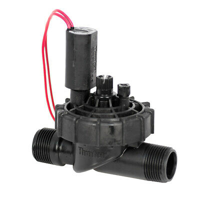 """Hunter PGV 1"""" BSPM Jar Top Solenoid Valve with Flow Control - 24V AC Coil"""