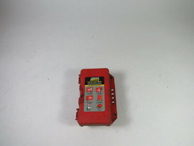 Equipment Log LOCKOUT Lock-Out Box RED  USED