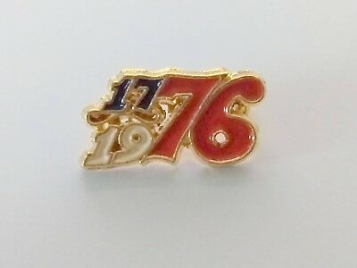 Bicentennial 1776-1976 Independence Day Pin 200th Anniversary