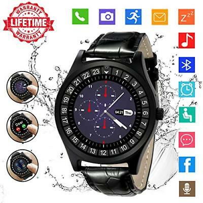 Android Smartwatch Bluetooth,Impermeable Reloj Inteligente con