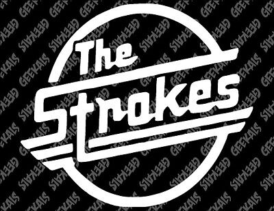 The Strokes Decal FREE US SHIPPING