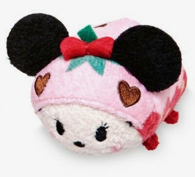 "Disney Tsum 3.5"" Mini Valentine's Day Minnie Mouse Chocolate Scented Set Plush"