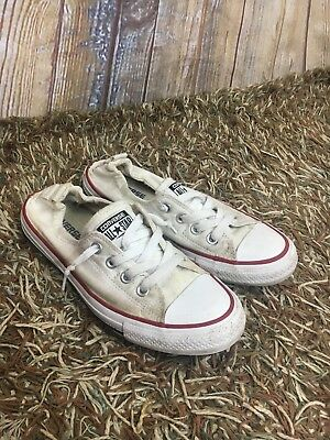 463957fcd736 Converse Shoes Women s Shoreline Chuck Taylor All Star White Sneakers Size 8