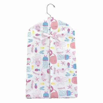 Bedtime Originals Sugar Reef Pink/Blue Aquatic Underwater Theme Diaper Stacker